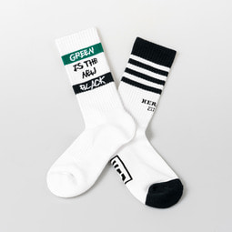 Heroes green 2-pack board socks set